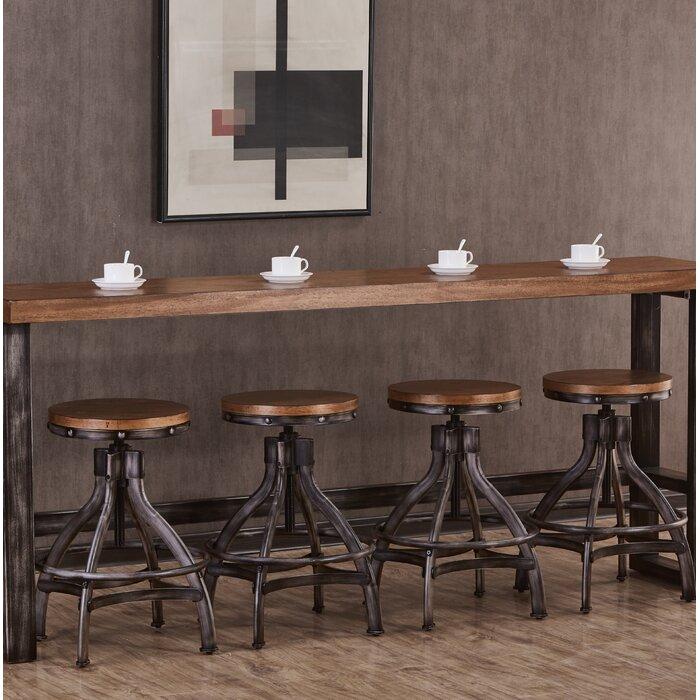 Amazing Wellman Adjustable Height Swivel Bar Stool Machost Co Dining Chair Design Ideas Machostcouk