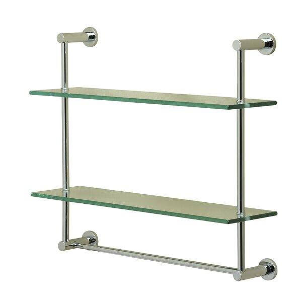 Essentials 2 Tier Wall Shelf by Valsan