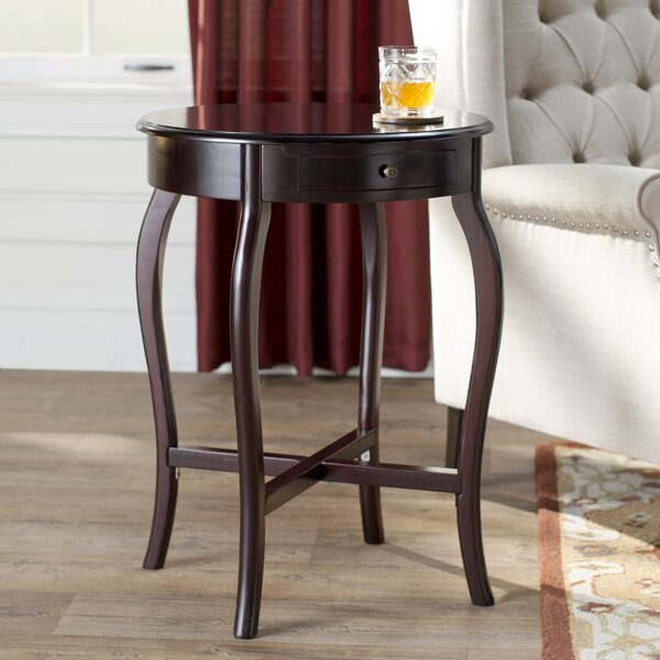 Vanpelt End Table by Charlton Home