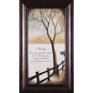 Family by Kendra Baird Framed Painting Print by Art Effects