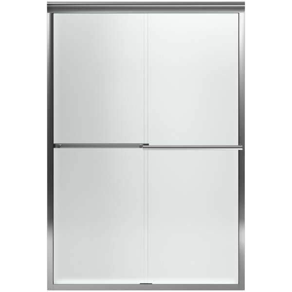 Gradient 47.63'' x 70.06'' Double Sliding Shower Door with CleanCoat® Technology by Kohler
