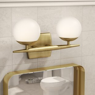 Scandinavian Bathroom Vanity Lighting Youll Love Wayfair - Bathroom light fixtures wayfair