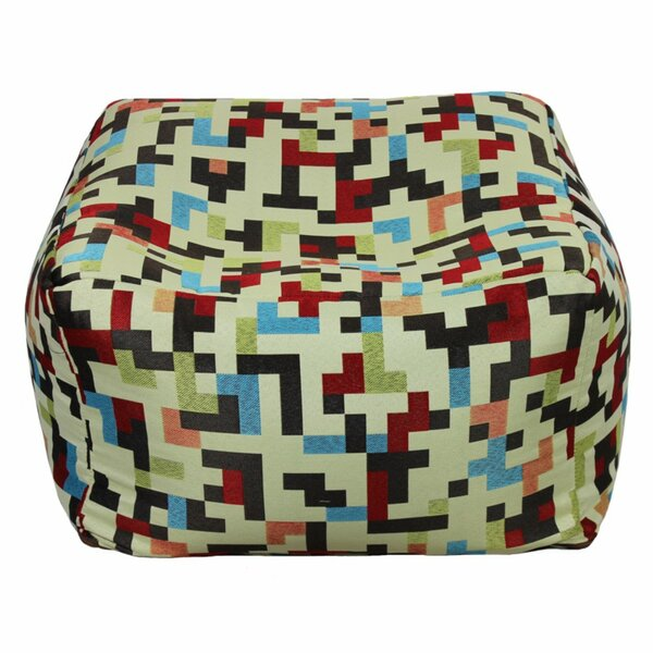 Grosso Fabric Pouf by Ebern Designs
