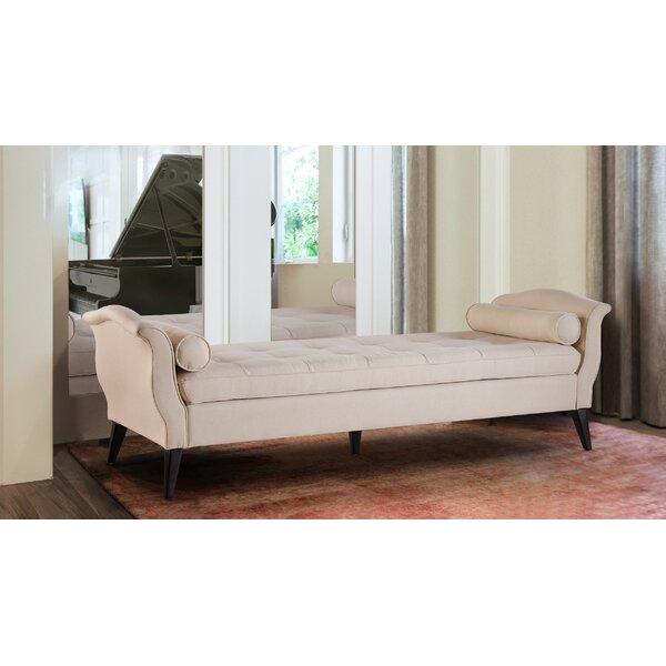 Robinson Tufted Upholstered Bench by Jennifer Taylor