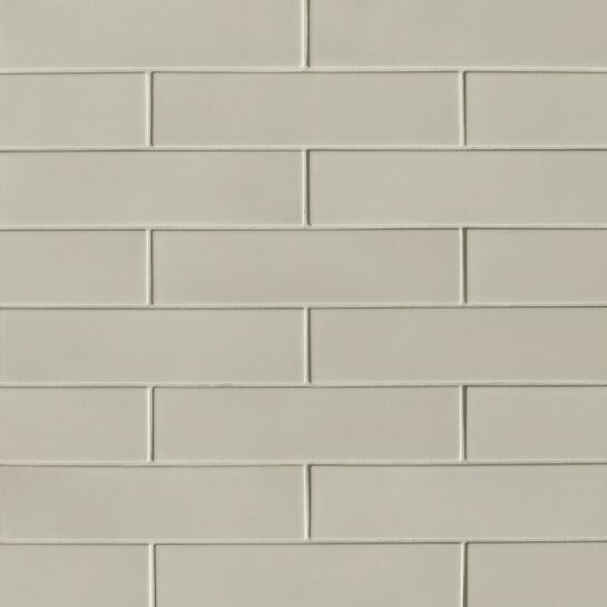 Portofino 3 x 12 Ceramic Subway Tile in Gray by Grayson Martin
