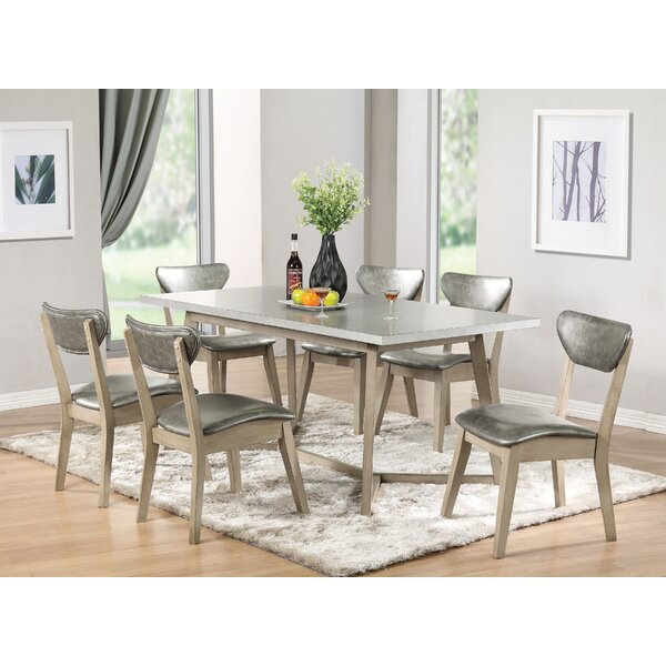 Fernwood 7 Piece Dining Set by Brayden Studio