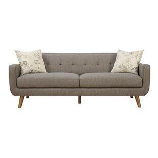 Gaven Mid Century Modern Sofa & Pillow Set by Latitude Run