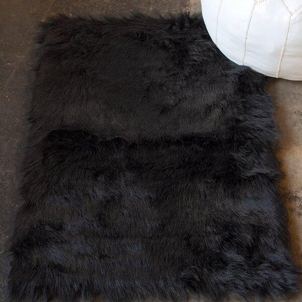 Shawnta Black Area Rug by Union Rustic