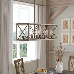 lights over kitchen island maly 8light kitchen island pendant peninsula lighting wayfair
