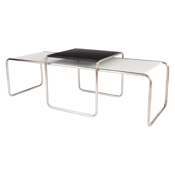 Malvern 2 Piece Coffee Table Set by LeisureMod