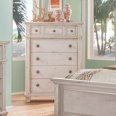 Dorinda Vintage Style 5 Drawer Chest by One Allium Way