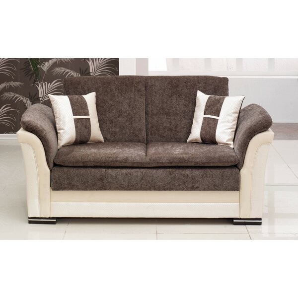 Beyan Deluxe Chesterfield Loveseat by Beyan Signature