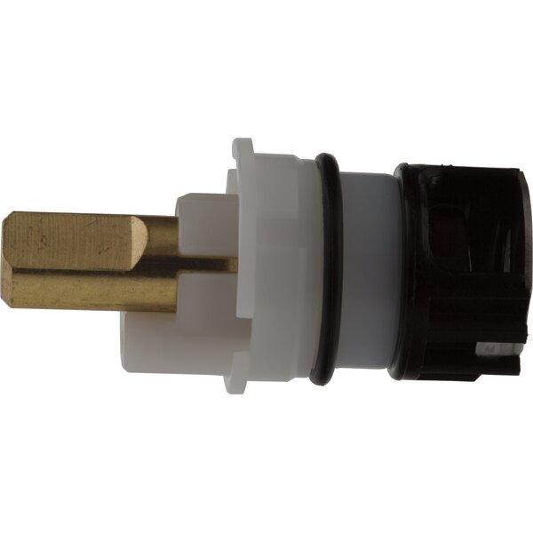 Brass and Stainless Steel Plate Retaining Stem Unit by Delta