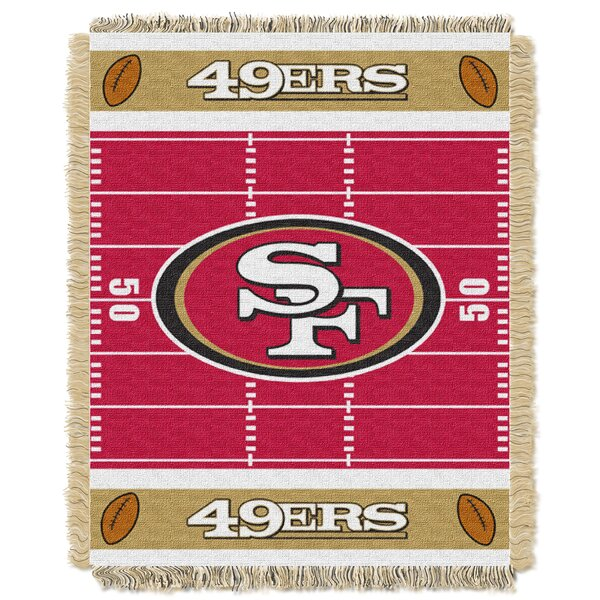 NFL 49ers Field Baby Blanket by Northwest Co.