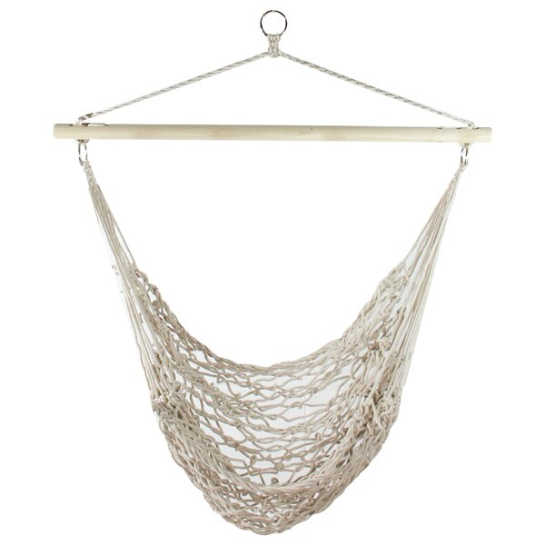 Horner Cotton Netting Chair Hammock by Bungalow Rose