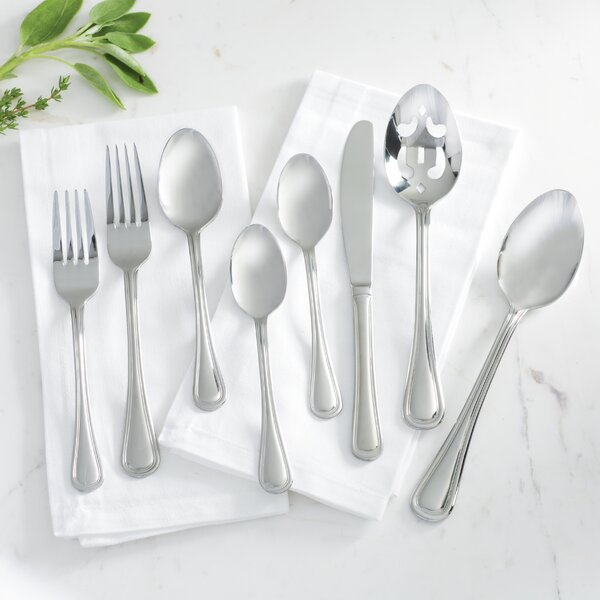 Hollis 74 Piece Flatware Set By Oneida