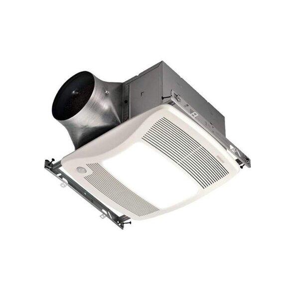 110 CFM Bathroom Fan with Light by Broan