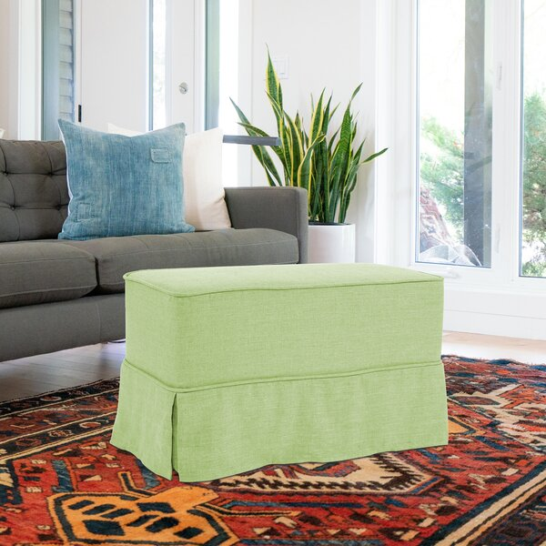 Fenham Skirted Bench by Rosecliff Heights Rosecliff Heights