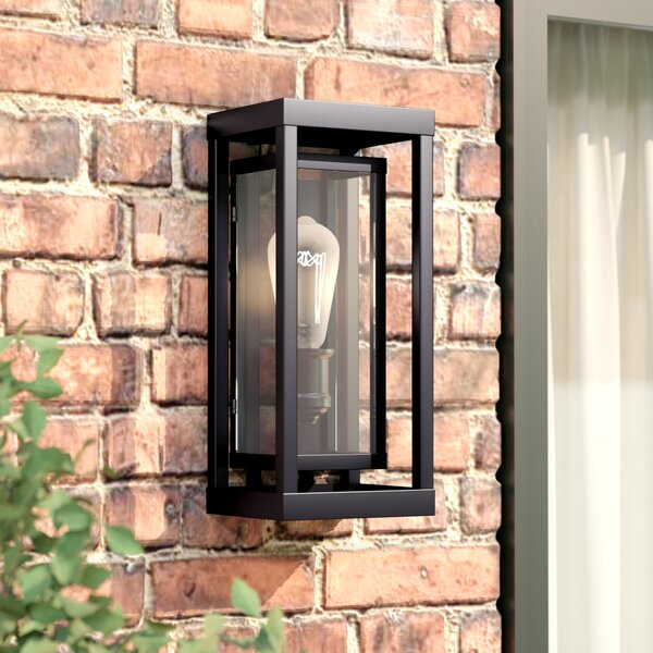 Eddleman LED Outdoor Flush mount by Mercury Row