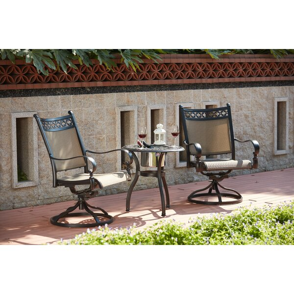 Wabon 3 Piece Rocker Conversation Set by Darby Home Co