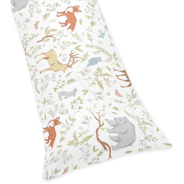 Woodland Toile Body Pillow Case by Sweet Jojo Designs