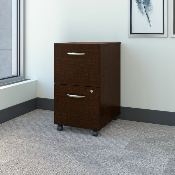 Series C Elite 2-Drawer Mobile Vertical Filing Cabinet by Bush Business Furniture