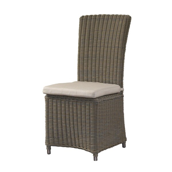 Gulf Shore Patio Dining Chair with Cushion by Padmas Plantation