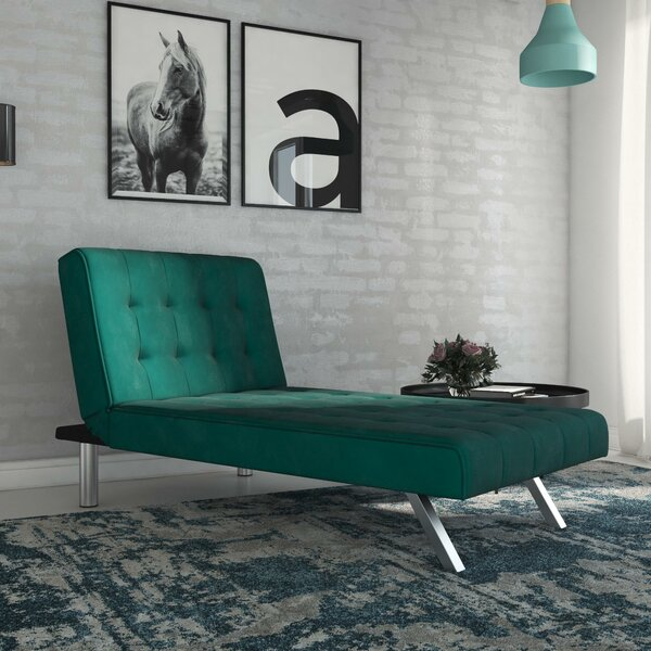 Littrell Chaise Lounge by Wade Logan