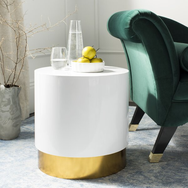 Danette End Table by Everly Quinn