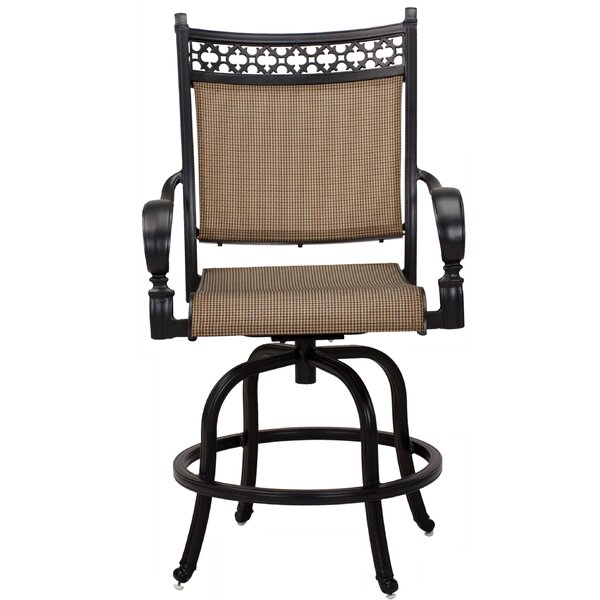 Curacao Swivel 26-inch Patio Bar Stool (Set of 6) by Sol 72 Outdoor Sol 72 Outdoor
