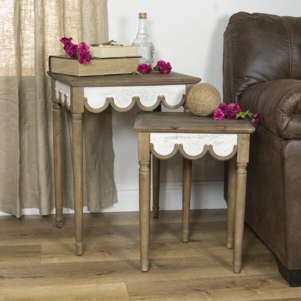 Launcest 2 Piece Nesting Tables by Ophelia & Co. Ophelia & Co.