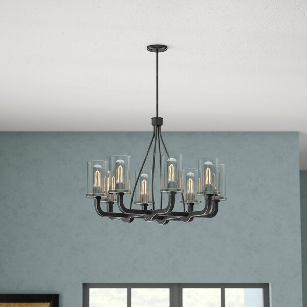Beatrice 8-Light Shaded Chandelier by Trent Austin Design