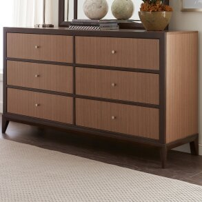 Coletta 6 Drawer Double Dresser by World Menagerie