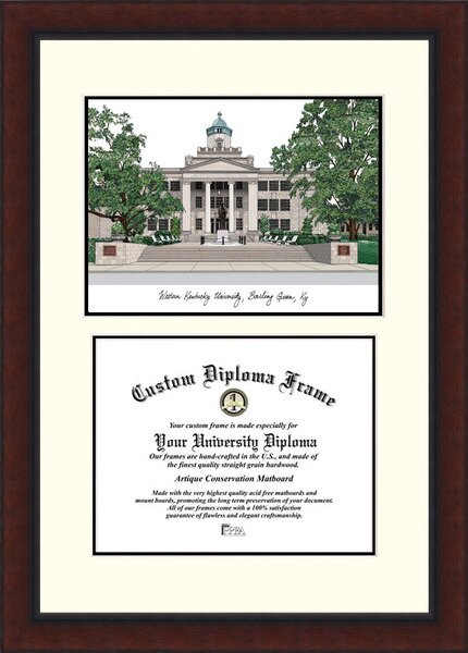 NCAA Western Kentucky University Legacy Scholar Diploma Picture Frame by Campus Images