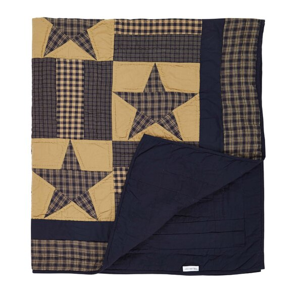 Timbrell Quilted Cotton Throw by August Grove