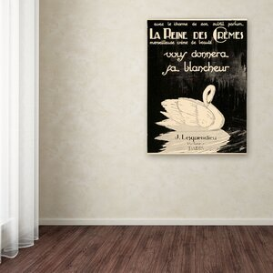 Apple Lesquendieu Cremes Vintage Advertisement on Wrapped Canvas by Trademark Fine Art
