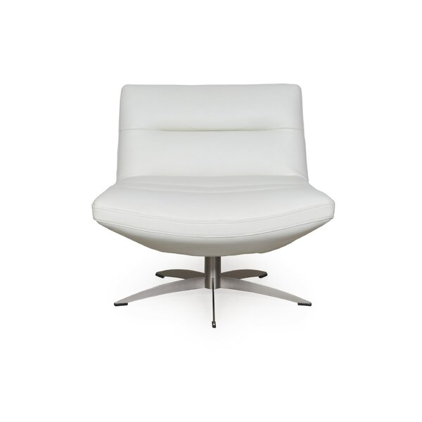 Taran Swivel Lounge Chair by Orren Ellis Orren Ellis