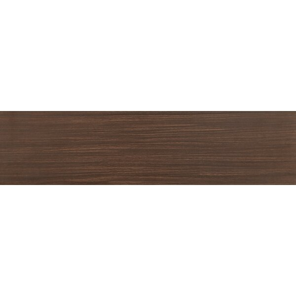 Sygma Chocolate 6 x 24 Ceramic Wood look Tile in Brown by MSI