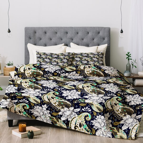 Marta Barragan Camarasa Paisley Bloom Comforter Set