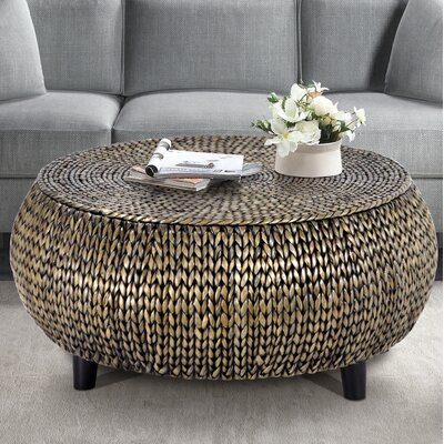 Arboleda Coffee Table Color: Silver Gray Patina by Beachcrest Home