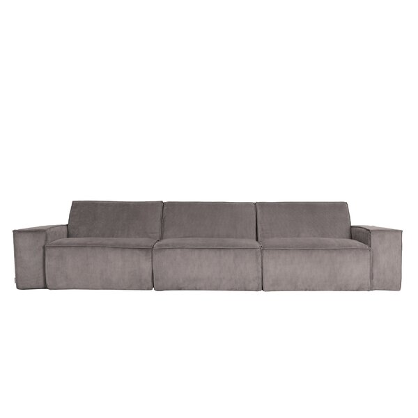 122'' Square Arm Sofa By Zuiver
