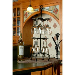 Triggs Tabletop Wine Glass Rack by Andover Mills