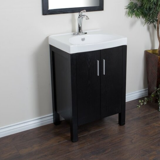 24 Single Sink Vanity Set by Bellaterra Home24 Single Sink Vanity Set by Bellaterra Home
