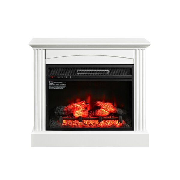 Gallaudet Electric Fireplace by Astoria Grand