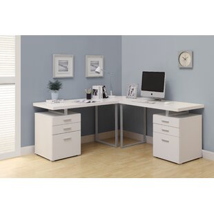 Corner Desk With File Cabinet | Wayfair