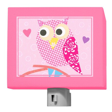 Mod Owl Night Light by Oopsy Daisy