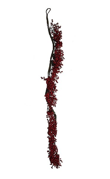 Christmas Traditions Artificial Decorative Berry Garland by Tori Home