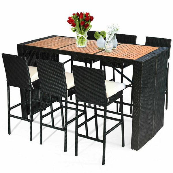 Henshaw Patio 7 Pieces Dining Set by Ebern Designs