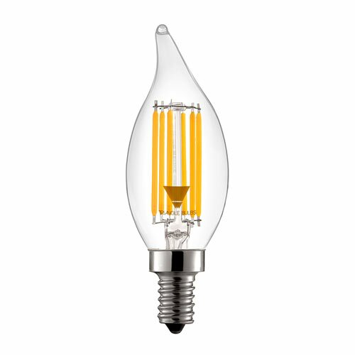 60W Equivalent E12 LED Candle Light Bulb by TriGlow