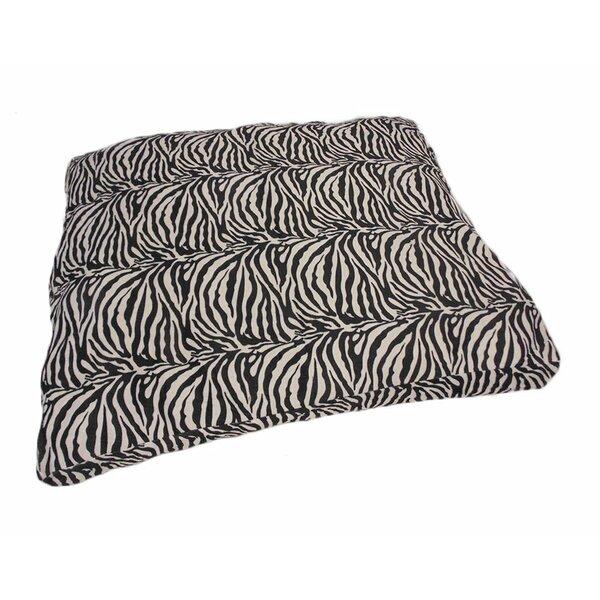 Eco Friendly Zebra Extra Plush Soft Dog Pillow by Stratford Home